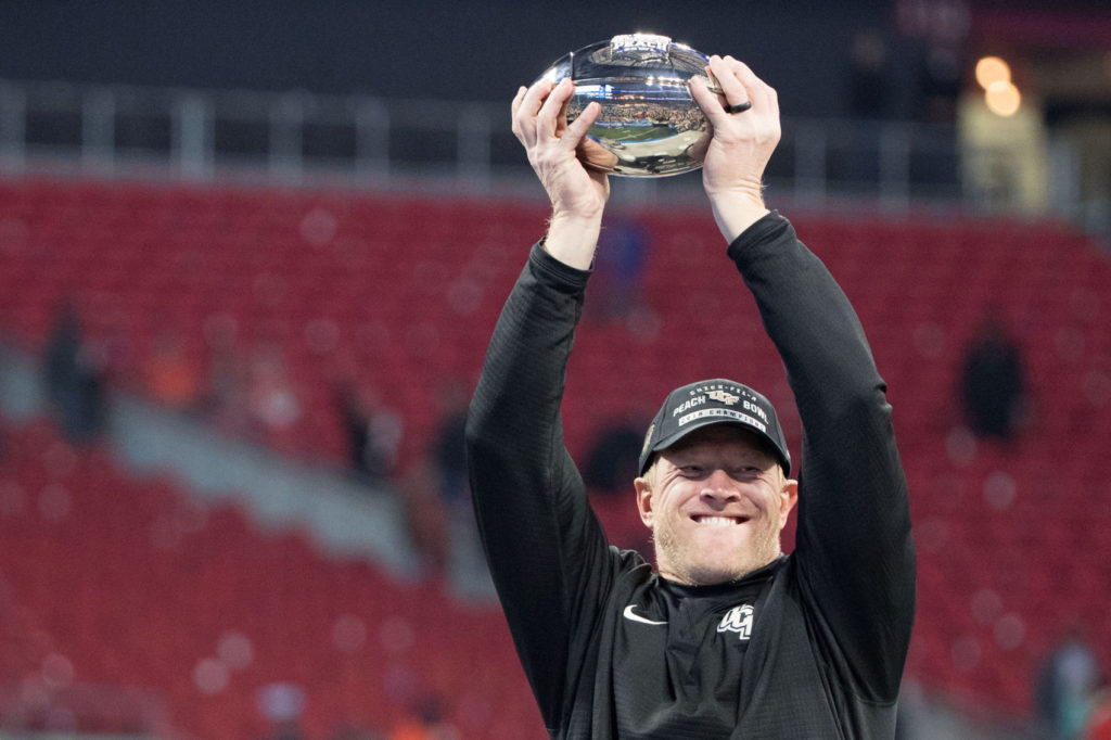 Scott Frost appears on ESPN's College GameDay, stumps for playoff expansion