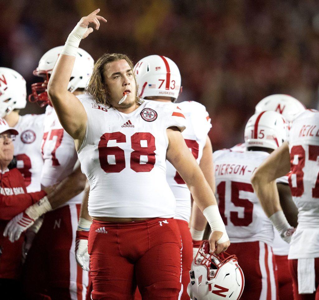 Nebraska football: Nick Gates becomes second Husker to