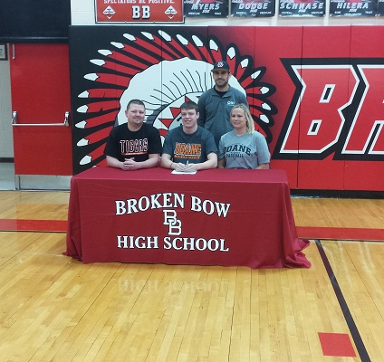 Tyler Jensen Signs Letter of Intent to Play Baseball at Doane
