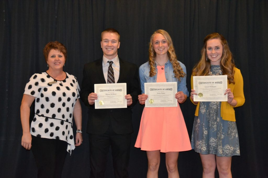Custer County Foundation Awards 2018 Scholarships