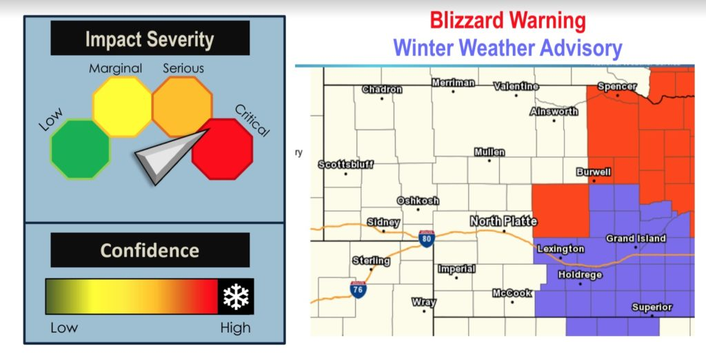 Blizzard Warning Extended until 10 p.m.