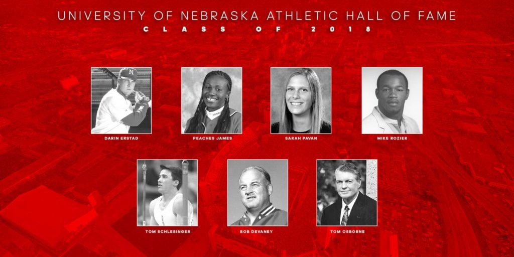 Devaney, Osborne Headline 2018 Nebraska Athletic Hall of Fame Class