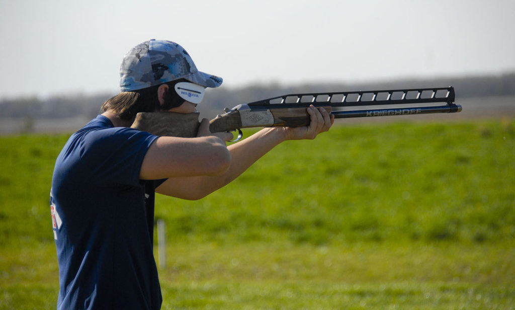 Norris shooter Max Christiansen is perfect at the Cornhusker Trapshoot, leads team to title