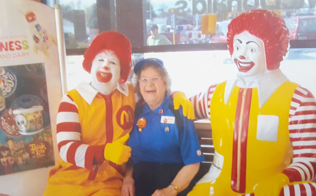 90-year-old McDonald's employee has been a 'bright light' at Nebraska restaurant for over 25 years
