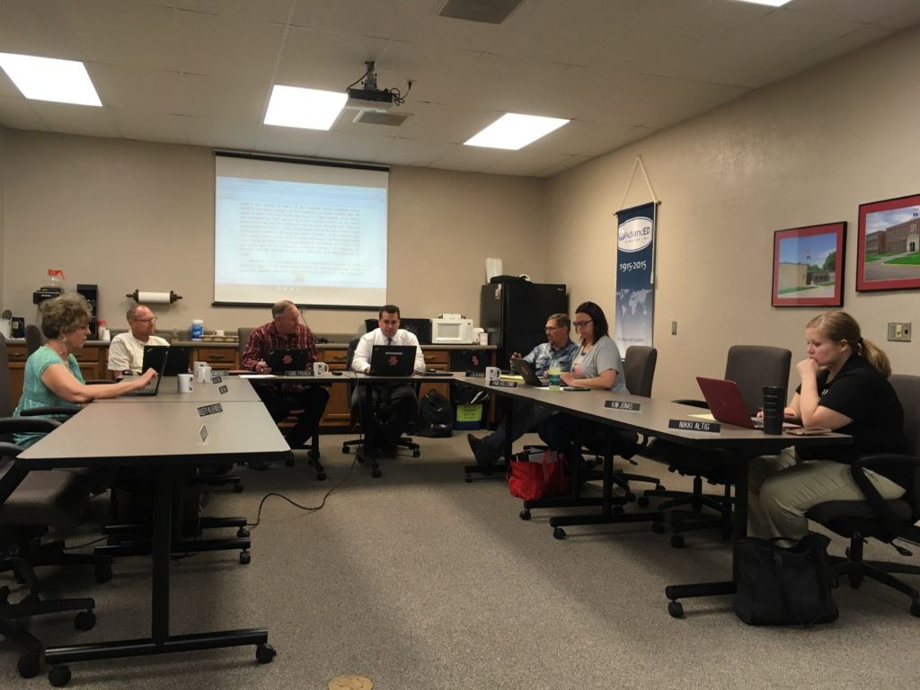 Broken Bow School Board discusses Special Education Program at Work Session