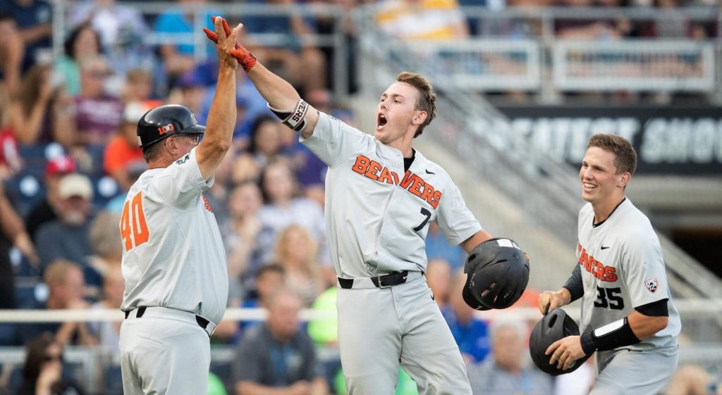 Oregon State defeats Mississippi State to clinch third trip to CWS championship series