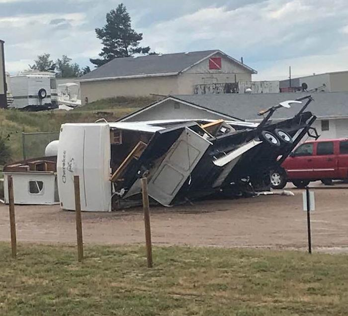 One dead after powerful storm at Lake McConaughy