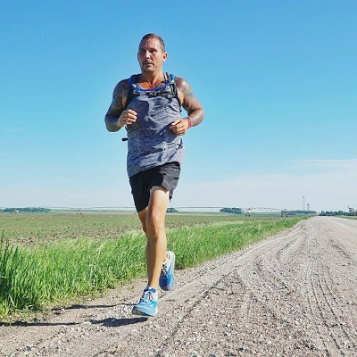 Athlete Running 3,000 Miles to Speak Out Against Child Abuse