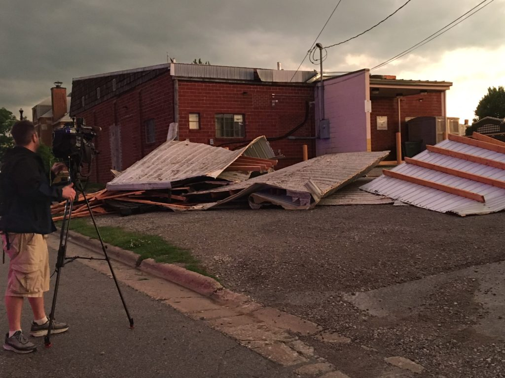 Sidney, Iowa, post office closed by 'catastrophic damage' from storms