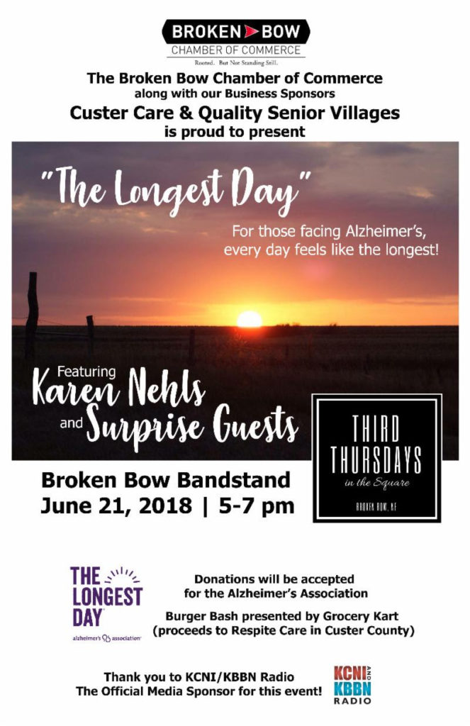 """""""The Longest Day"""" Third Thursday Event tonight in the Square"""