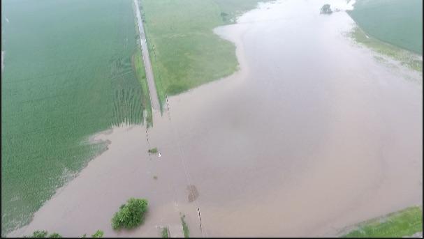 Heavy Rains Cause Flooding Throughout Nebraska