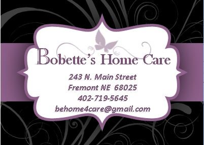 Bobette's Home Care – Immediate Openings for Caregivers