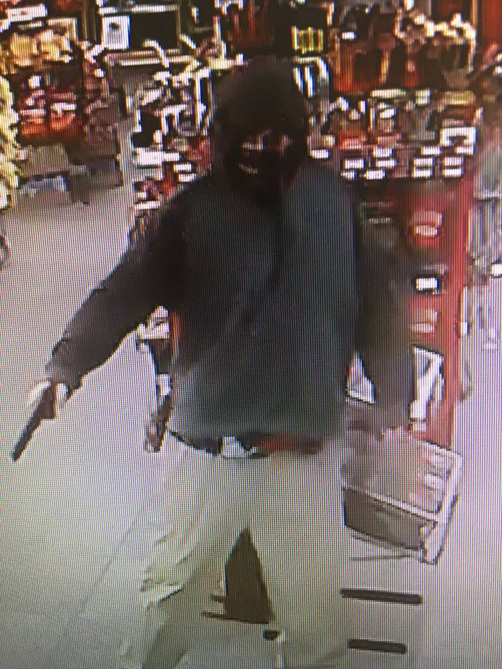 Early Morning Robbery in Broken Bow