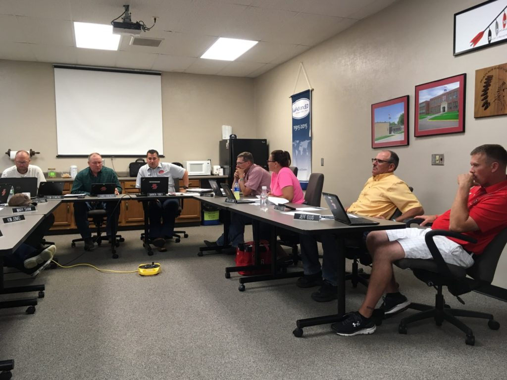 BB School Board Hosts July Work Session