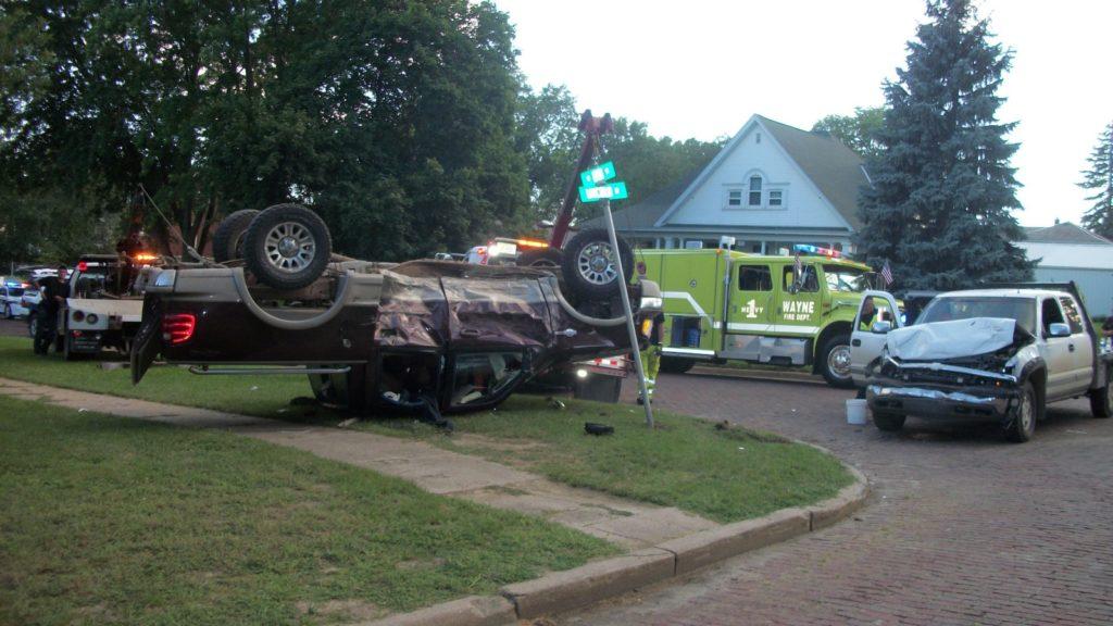Truck Rollover Just A Block Off Main Street Saturday | WDN