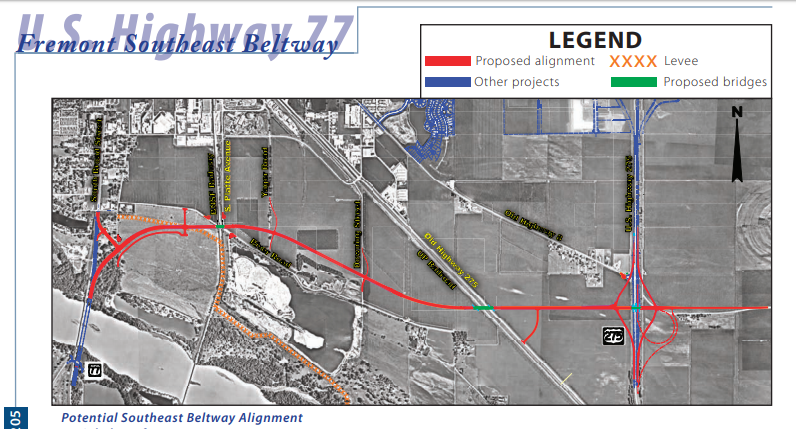 Information Open House July 19 for Fremont Southeast Beltway