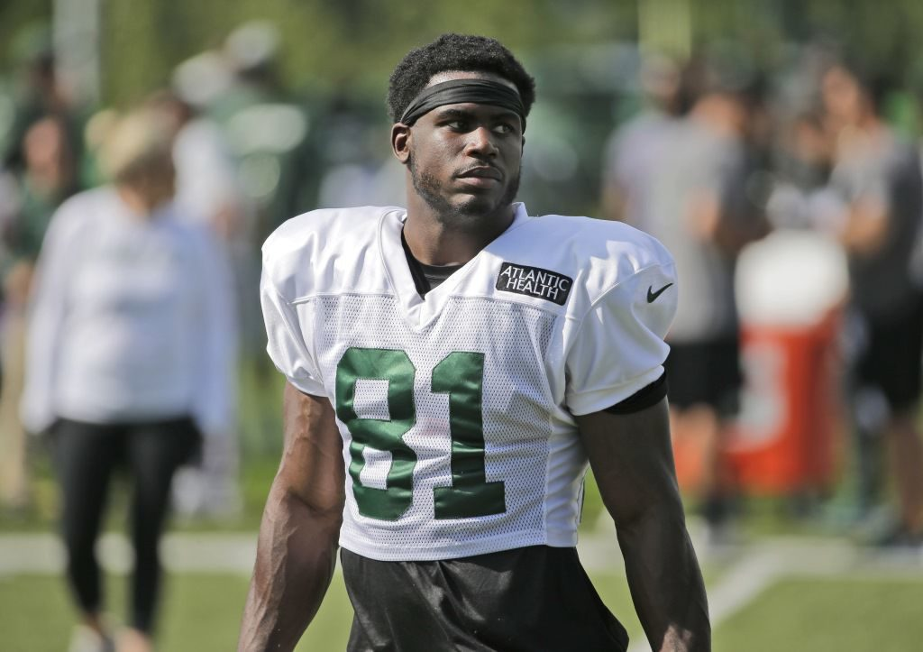 Former Husker Quincy Enunwa looks good on comeback trail from neck injury