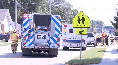 Traffic collision in Norfolk blocks intersection
