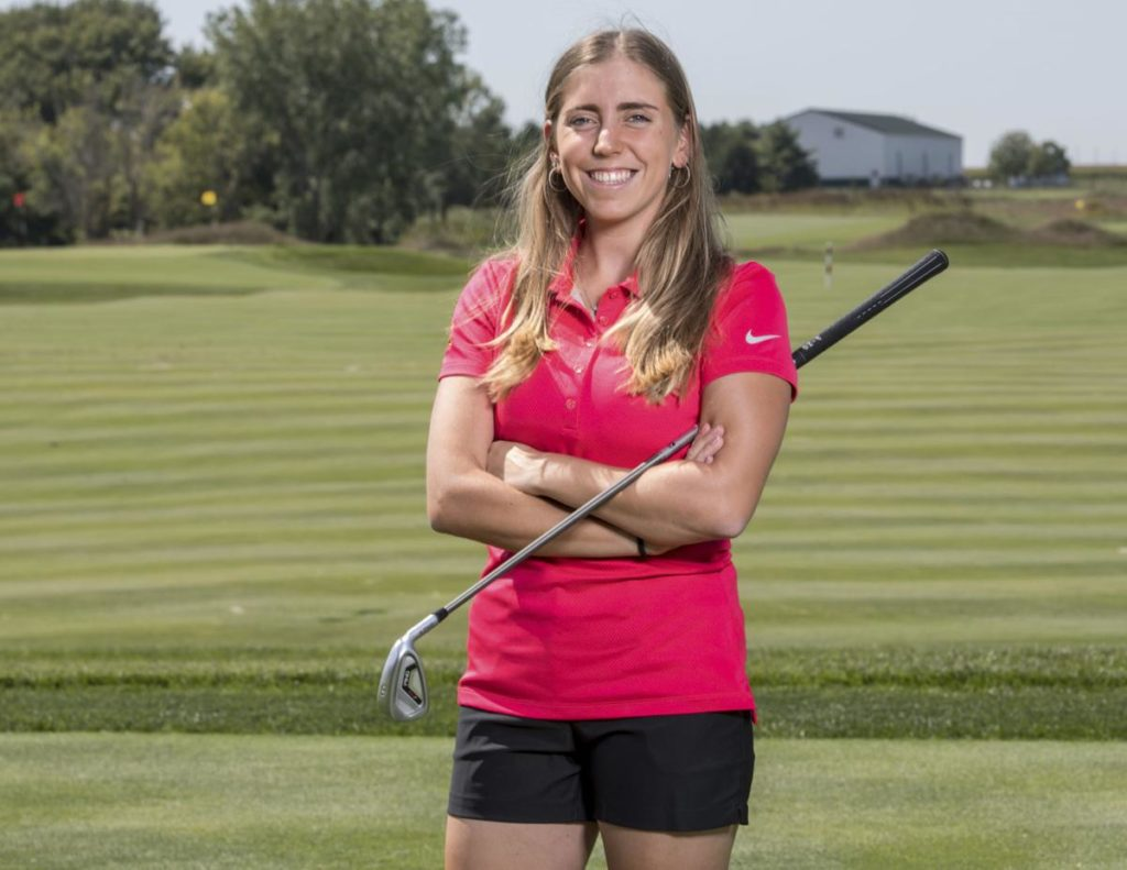 Drifter charged in stabbing death of champion golfer for Iowa State University