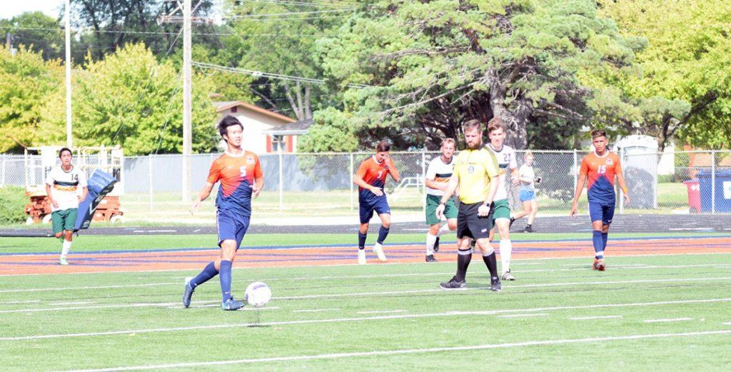Warriors Men's Soccer Captures 3-0 Win over Tigers, Remain Unbeaten in GPAC Play