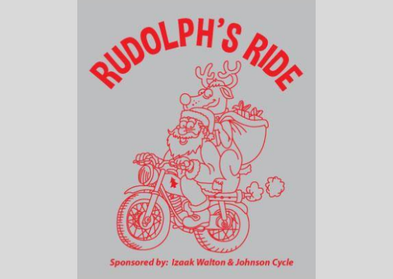 Sunday's Rudolph's Ride Will Raise Funds For The Bridge & Shop With a Cop