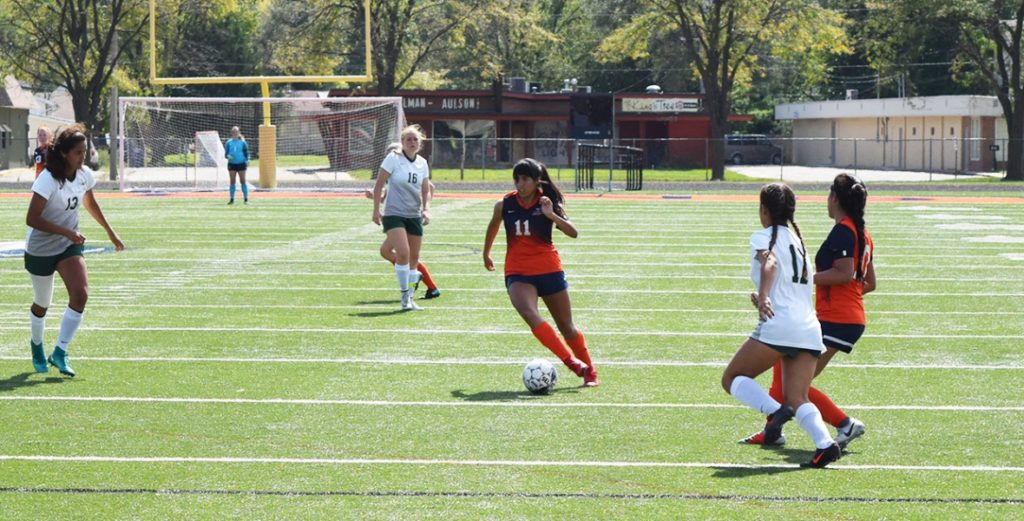 No. 20 Lady Warriors Soccer Shutout Tigers on the Road, Win Sixth Straight