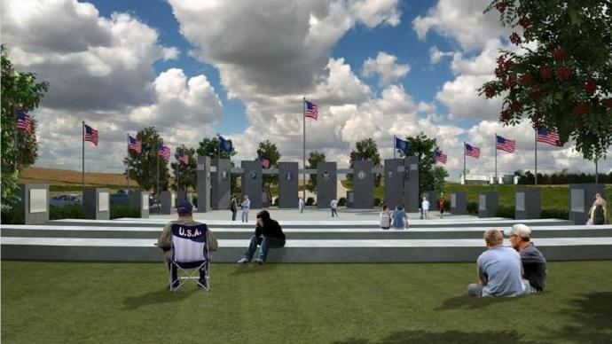 One-Of-A-Kind Memorial To Go Next To New Veterans Home