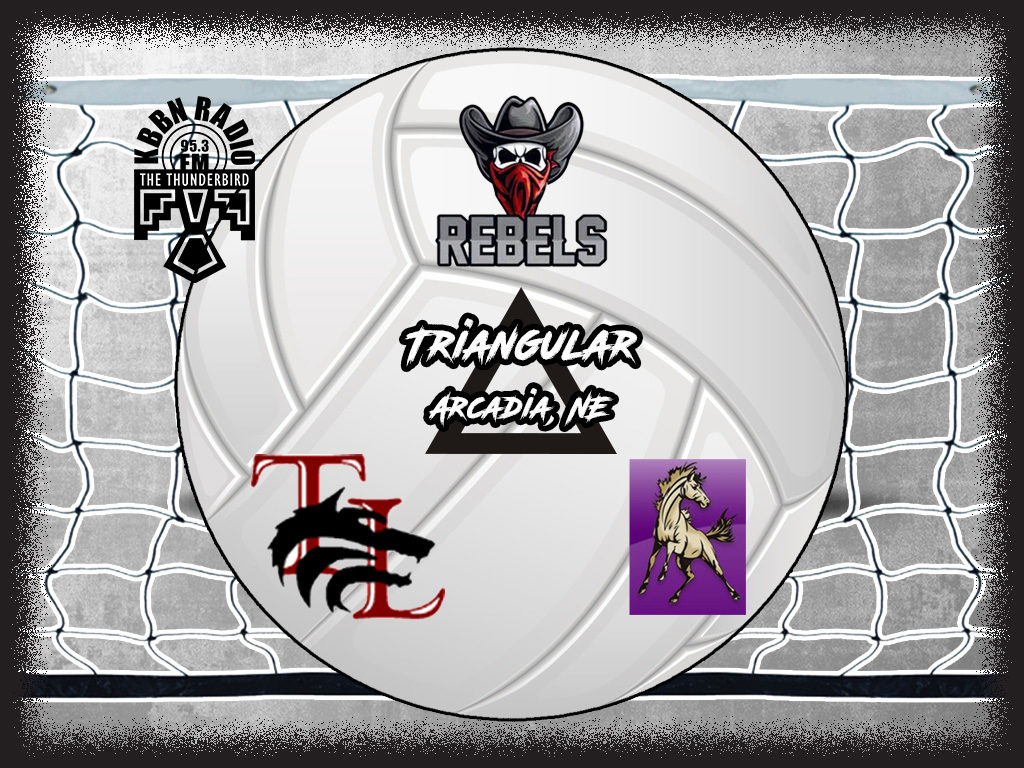 Arcadia/Loup City to Host SEM and Twin Loup for Volleyball Triangular on KBBN