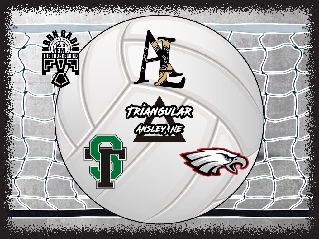 Ansley/Litchfield Volleyball Triangular with Brady and Sandhills/Thedford on KBBN