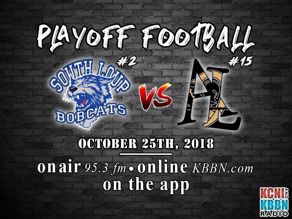 State Football Playoffs Begin Today – South Loup vs Ansley/Litchfield on KBBN