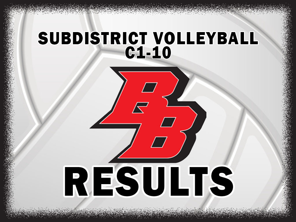 Broken Bow Advances to C1-10 Sub District Final With a Thrilling 5 Set Win Over Centura