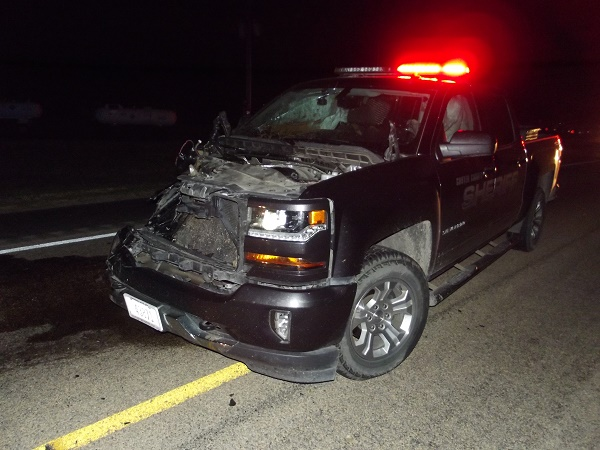 Custer County Patrol Vehicle Totaled In One-Vehicle Accident
