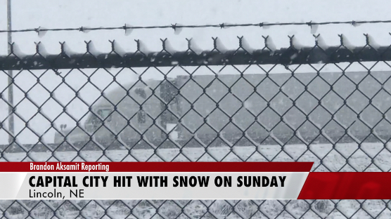 Lincoln Hit with First Snowfall of Season