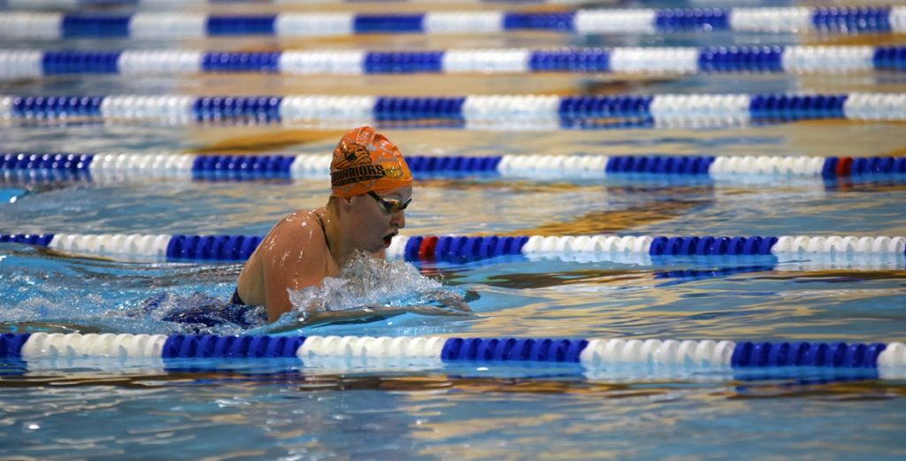 Midland Swimming Hosts Invitational; Men 2nd, Women 4th