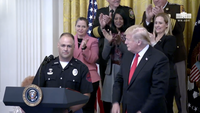 State Trooper Invited To The White House