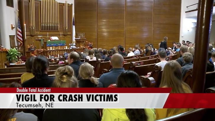 Friends of Fatal Crash Victims Share Memories at Vigil