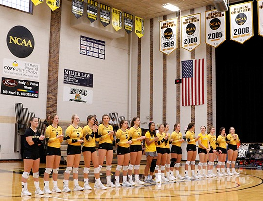 Wildcat Volleyball Picks Up Four Set Road Victory, Secure #6 Seed In Conference Tourney