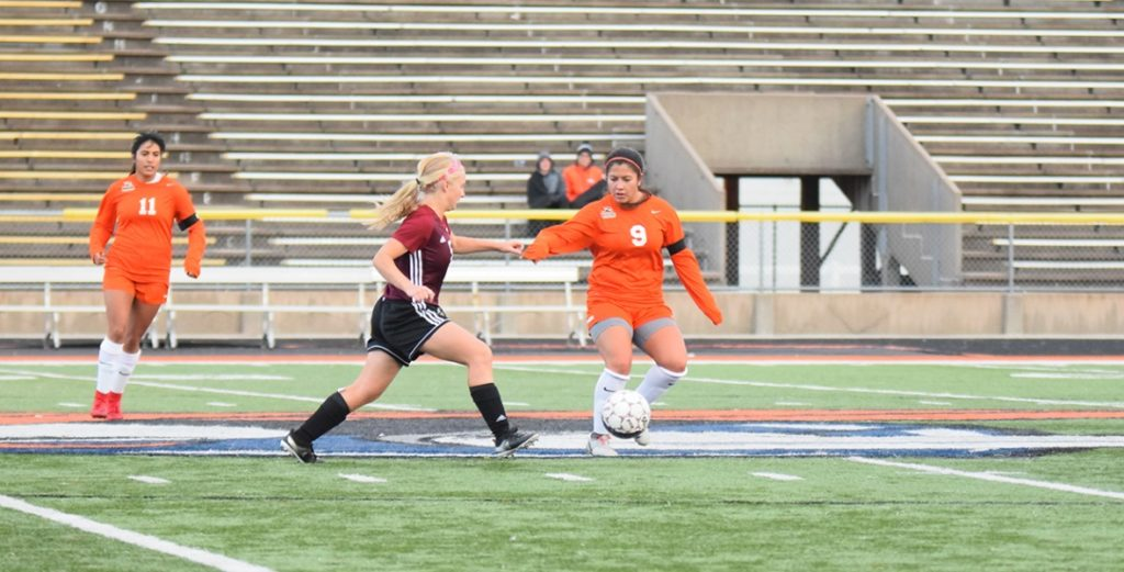 No. 20 Lady Warriors Earns Draw with No. 13 Hastings, Remain Unbeaten in Conference