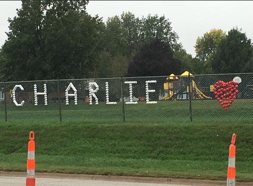"Falls City Displays ""Charlie Heart"" At Boy's Passing"