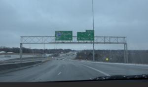 Winter Storm Rolls Through Omaha