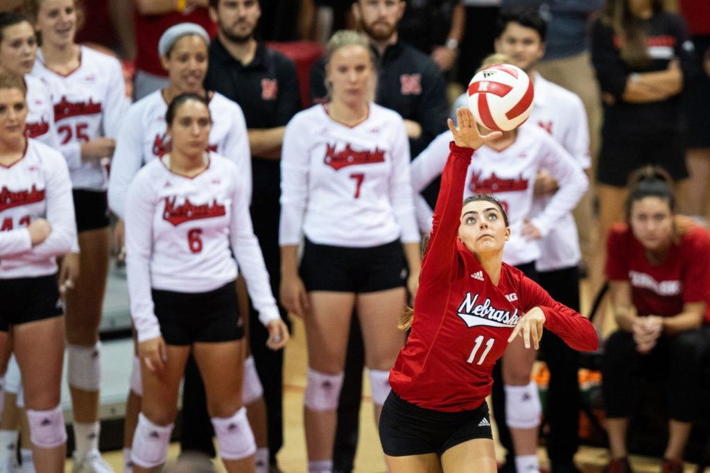 Nebraska places three on All-Big Ten volleyball first team, two on All-Freshman team