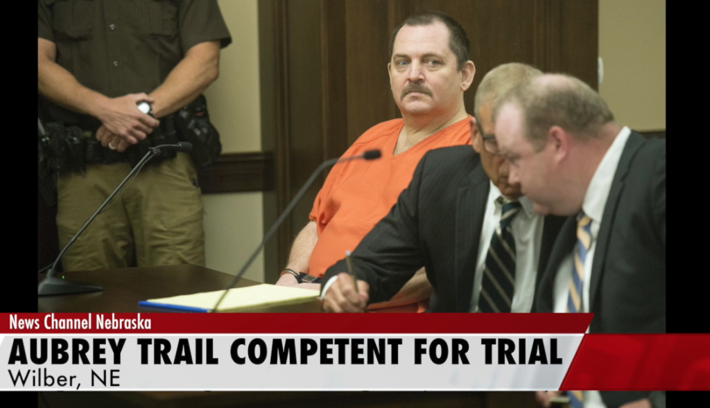 Aubrey Trail Ruled Competent for Trial