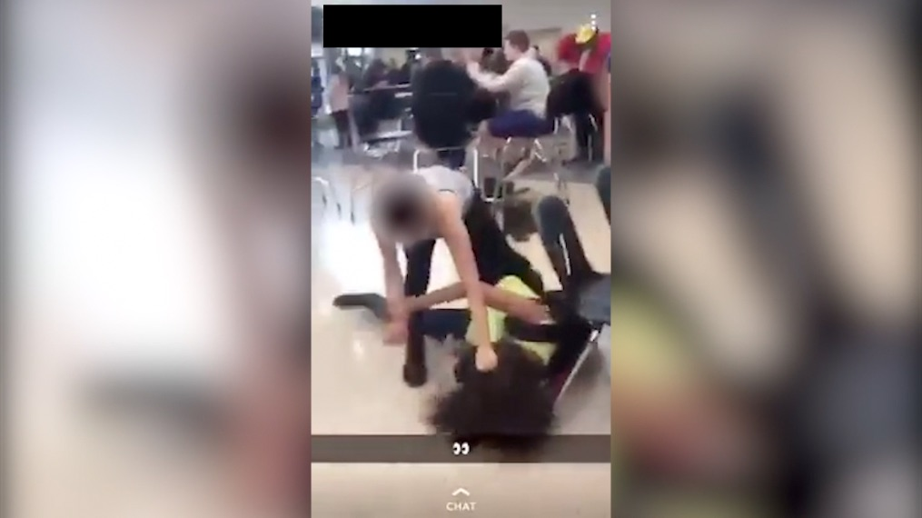 Video Shows Crete Students in Brutal Fight