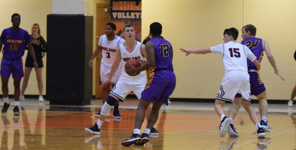 Warriors Get Out Muscled, Lose by 25 to Kansas Wesleyan