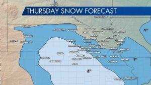 Snow on the Way