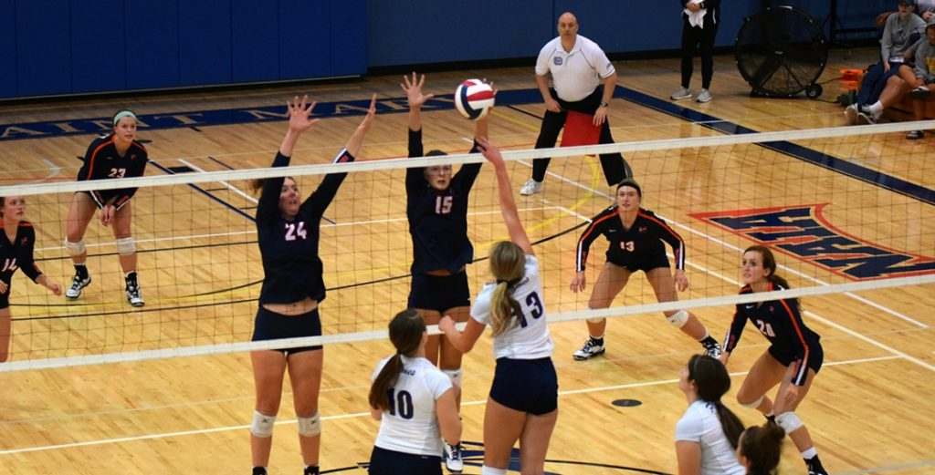 No. 11 Midland Suffer Four Set Defeat to No. 5 Dordt in GPAC Semifinals