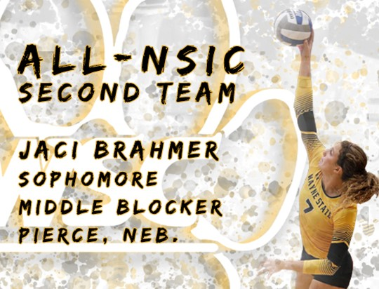 Brahmer Receives All-NSIC Second Team Honors Back-To-Back Years