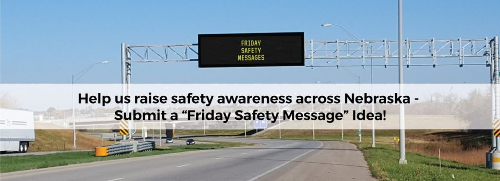 Feeling creative? NDOT Seeks Creative Friday Safety Messages