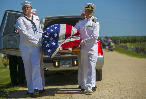Remains of Omaha sailor who died at Pearl Harbor identified by anthropologists at Offutt