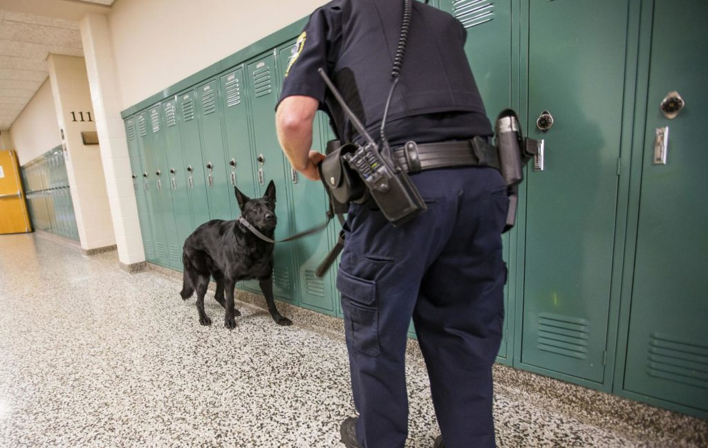 ACLU report questions police presence in schools, says programs fuel 'school to prison' pipeline